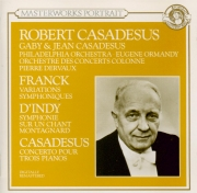 FRANCK - Casadesus - Variations symphoniques, pour piano et orchestre FW