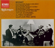 MOZART - Quatuor Pro Art - Quatuor pour piano et cordes en sol mineur K