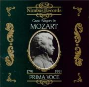 Great Singers in Mozart  1906-1938