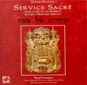 Service sacré pour le matin du Shabbat