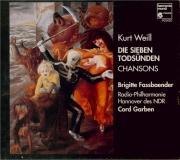 WEILL - Fassbaender - Die sieben Todsünden (Les sept péchés capitaux)