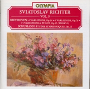 BEETHOVEN - Richter - Six variations sur un thème original op.34 (vol.6) vol.6