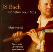 BACH - Hantai - Partita pour flûte seule en la mineur BWV.1013