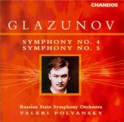 GLAZUNOV - Polyanskii - Symphonie n°4 op.48