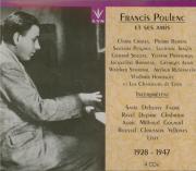 Poulenc et ses amis L'intégrale 1928-1947