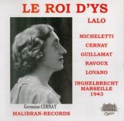 LALO - Inghelbrecht - Roi d'Ys (Le) : extraits