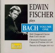 Edwin Fischer plays Bach Vol.1