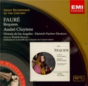 FAURE - Cluytens - Requiem pour voix, orgue et orchestre en ré mineur op