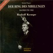 WAGNER - Kempe - Der Ring des Nibelungen (L'Anneau du Nibelung) WWV.86 live Bayreuth 1960