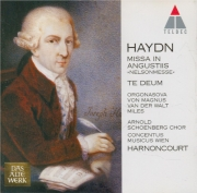 HAYDN - Harnoncourt - Missa in Angustijs, pour solistes, choeur mixte, or