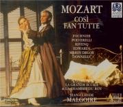 MOZART - Malgoire - Cosi fan tutte (Ainsi font-elles toutes), opéra bouf