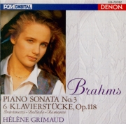 BRAHMS - Grimaud - Sonate pour piano n°3 en fa mineur op.5