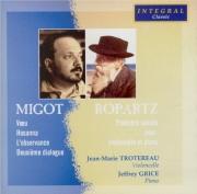 MIGOT - Trotereau - Trois pièces pour violoncelle et piano