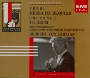 VERDI - Karajan - Messa da requiem, pour quatre voix solo, chœur, et orc