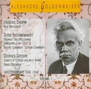 Alexandre Goldenweiser Vol.1