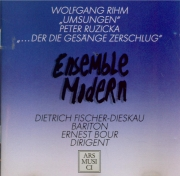 RIHM - Fischer-Dieskau - Umsungen