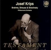 BRAHMS - Krips - Akademische Festouvertüre (Ouverture pour un festival a