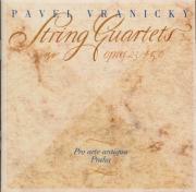 VRANICKY - Pro Arte Antiqu - Quatuor à cordes op.23-5