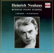 BRAHMS - Neuhaus - Acht Klavierstücke, huit pièces pour piano op.76