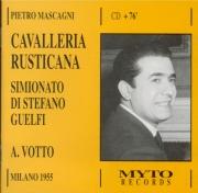 MASCAGNI - Votto - Cavalleria rusticana (live Scala di Milano 10 - 5 - 1955) live Scala di Milano 10 - 5 - 1955