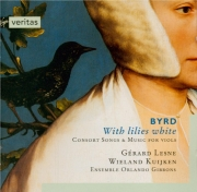 With lilies white (Consort songs and music for viols)