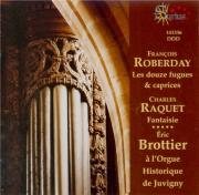 ROBERDAY - Brottier - Douze fugues et caprices, pour orgue