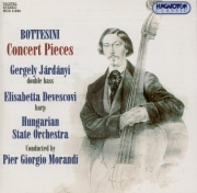 Pièces de concert pour contrebasse et harpe