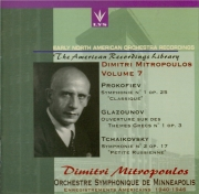 PROKOFIEV - Mitropoulos - Symphonie n°1 en ré majeur op.25 'Symphonie cl