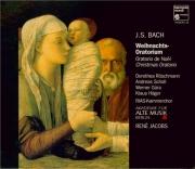 BACH - Jacobs - Oratorio de Noël(Weihnachts-Oratorium), pour solistes