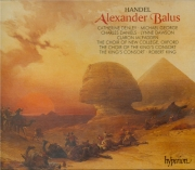 HAENDEL - King - Alexander Balus, oratorio HWV.65