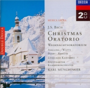 BACH - Münchinger - Oratorio de Noël(Weihnachts-Oratorium), pour solist