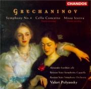 GRECHANINOV - Polyanskii - Symphonie n°4 op.102