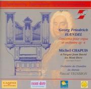 HAENDEL - Chapuis - Six concertos pour orgue op.4 HWV.289-294
