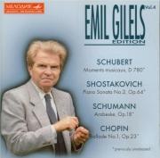 Emil Gilels edition Vol.4