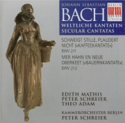 BACH - Schreier - Schweigt stille, plaudert nicht, cantate pour solistes
