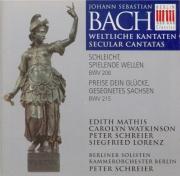 BACH - Schreier - Preise dein Glücke, gesegnetes Sachsen, cantate pour s