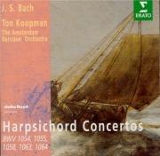 BACH - Koopman - Concerto pour clavecin et cordes n°3 en ré majeur BWV.1