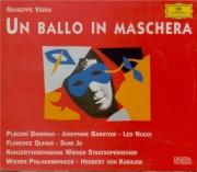 VERDI - Karajan - Un ballo in maschera (Un bal masqué), opéra en trois a
