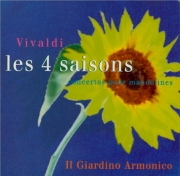 VIVALDI - Il Giardino Arm - Concerto pour mandoline, cordes et b.c. en d
