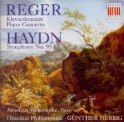 REGER - Webersinke - Concerto pour piano et orchestre en fa mineur op.11