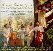 SCHUBERT - Ax - Quintette avec piano en la majeur op.posth.114 D.667 'Di