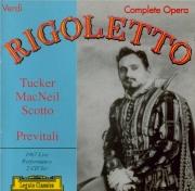 VERDI - Previtali - Rigoletto, opéra en trois actes live Buenos-Aires 22 - 8 - 1967