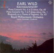 RACHMANINOV - Wild - Concerto pour piano n°1 en fa dièse mineur op.1