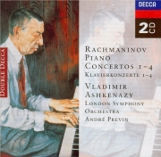 RACHMANINOV - Ashkenazy - Concerto pour piano n°1 en fa dièse mineur op