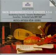 BACH - Goebel - Concerto brandebourgeois n°4 pour orchestre en sol majeu
