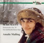 SCHUMANN - Malling - Humoreske, pour piano en si bémol majeur op.20