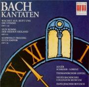 BACH - Rotzsch - Wachet auf, ruft uns die Stimme, cantate pour solistes
