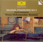 BRAHMS - Bernstein - Symphonie n°3 pour orchestre en fa majeur op.90