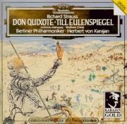 STRAUSS - Karajan - Don Quixote, pour violoncelle, alto et grand orchest