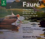 FAURE - Quatuor Via Nov - Quintette avec piano n°1 en ré mineur op.89